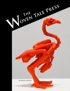 The Woven Tale Press May cover—online art and literary magazine (also available in print).