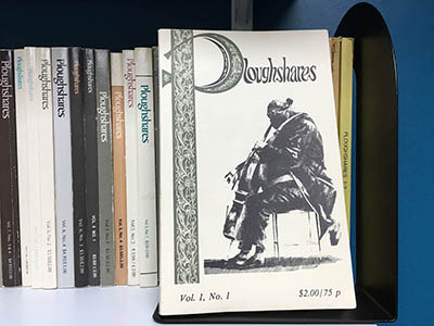 Cover of the first volume of Ploughshares