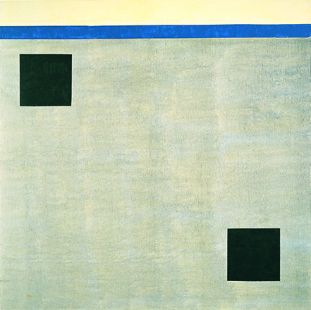 Agnes Martin Untitled, 2004 acrylic on canvas 60 x 60 inches ( 152.4 x 152.4 cm) Collection of Mitzi and Warren Eisenberg ©2015 Agnest Martin/Artists Rights Society (ARS), New York