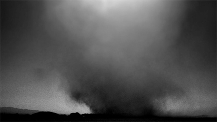 "Jeff Alu, ""Dust Devil"", El Mirage Dry Lake, 2009"