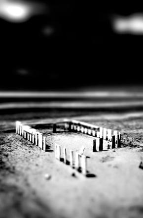 """image-3Jeff Alu, """"Structure"""", Salton Sea, 2006"""