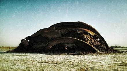 """Jeff Alu, """"Relic"""", Salton Sea, 2010"""