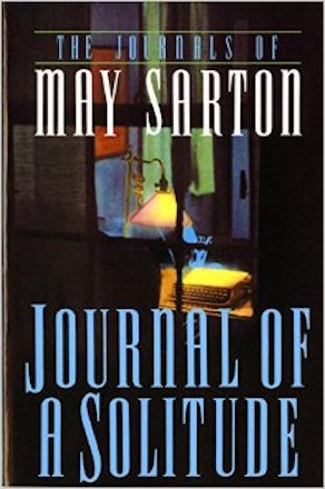 Journal of a Solitude by May Sarton, cover image