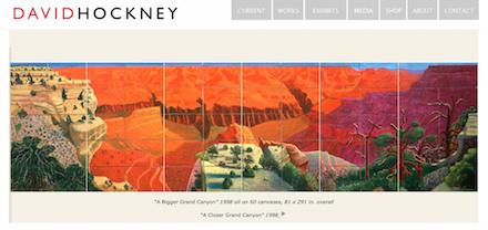 David Hockney Home Page