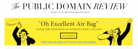 The Public Domain Review Home Page