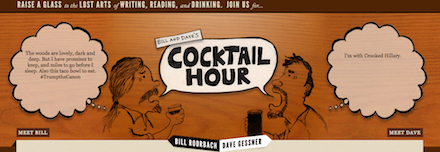 Bill and Dave's Cocktail Hour Banner
