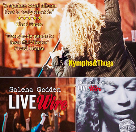 Salena Godden, Live Wire, Album Cover