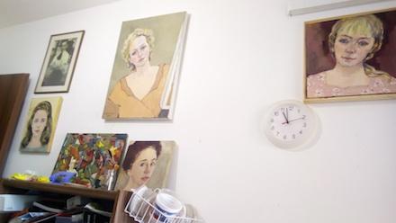 Lubov Lemkovitch's studio.