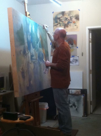 Daniel Ketelhut in the Studio