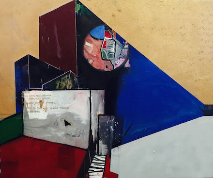 surrounded-2015-oil-and-spray-on-plywood-122-145cm