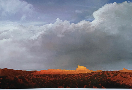 Most Approaches Suffer From The Predictable Isolation of Schools Oil on canvas 72 x 108 inches, 2010