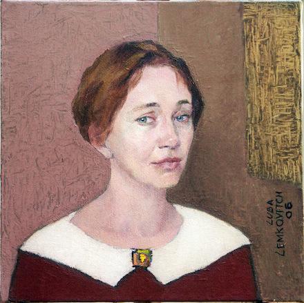 Lubov Lemkovitch, Elena, oil on canvas.