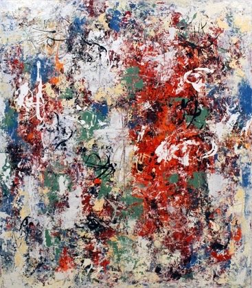 Carol Setterlund painting