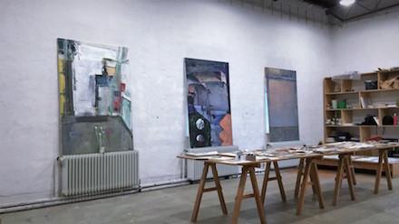 Ryan Schroeder's studio