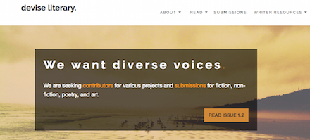 Devise Literary Home Page