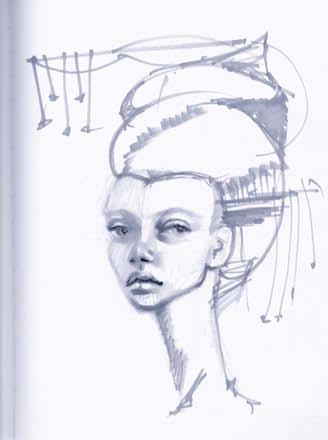 ivette-cabrera-art-sketches-kumari