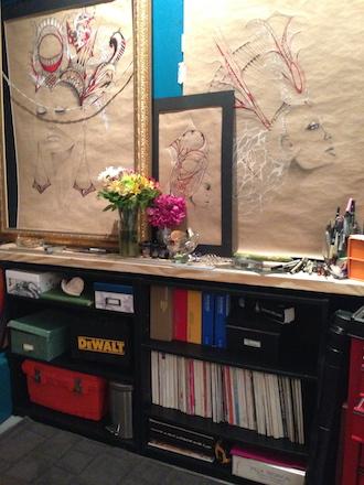 Ivette Cabrera's Studio