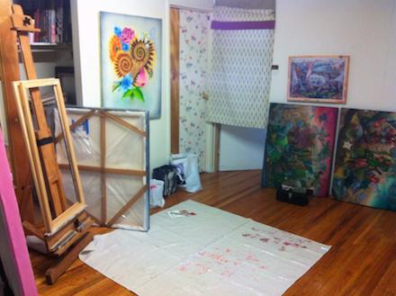 Yasuaki Okamoto's New York Studio