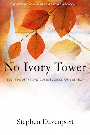 Cover of Stephen Davenport's second novel No Ivory Tower