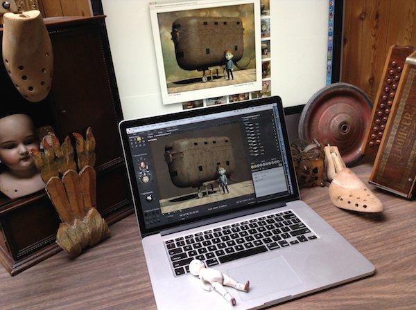 Don Bergland's digital studio