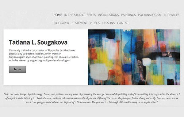 Site Review: Tatiana L. Sougakova