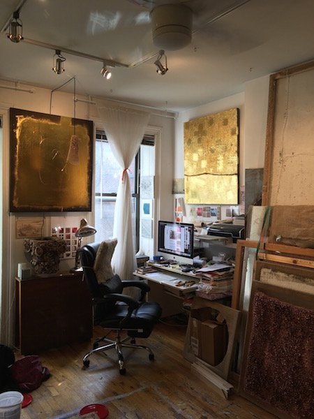 Terranova's studio