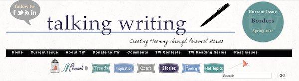 Talking Writing Banner