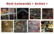 Site Review: Neil Leinwohl