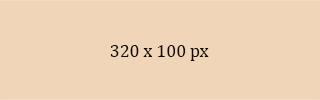 320 x 100 ad